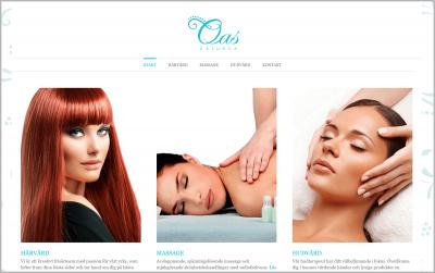 Webbdesign webbplats Råsunda Oas